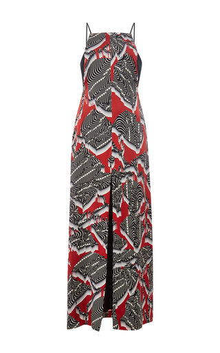 Medium nonoo print formation print delphine dress