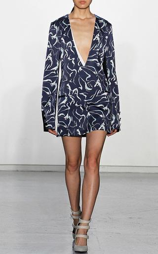 Ephemeral Print Valerie Dress by MISHA NONOO Now Available on Moda Operandi