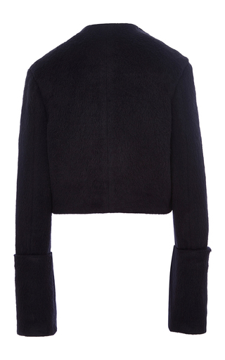 Brushed Alpaca Isabelle Top by MISHA NONOO Now Available on Moda Operandi