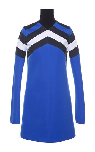 Sports Chevron Shift Dress by MSGM Now Available on Moda Operandi