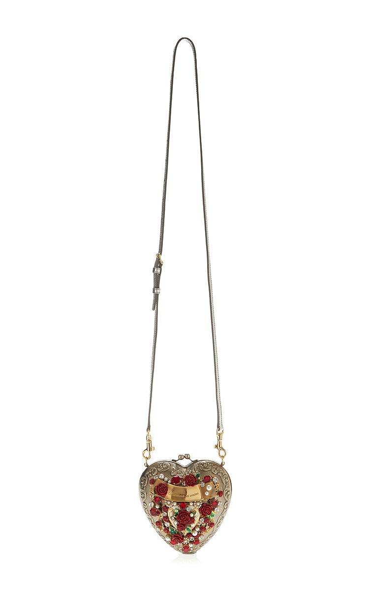 a80a39d7e3 Dolce   GabbanaSacred Heart Evening Bag. CLOSE. Loading