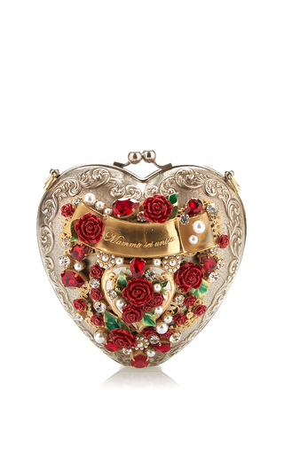 Medium dolce gabbana multi sacred heart evening bag