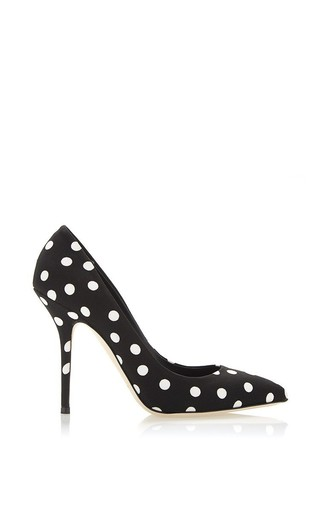 Medium dolce gabbana print polka dot pump