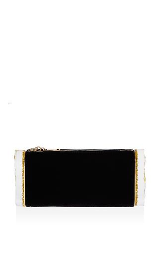 Medium edie parker black lara backlit in obsidian glow
