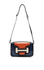 Alpha Crossbody In Multi Blue by PIERRE HARDY for Preorder on Moda Operandi