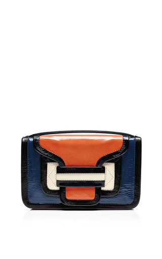 Medium pierre hardy blue alpha crossbody in multi blue