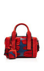 Mini Bandit In Printed Red by PIERRE HARDY for Preorder on Moda Operandi