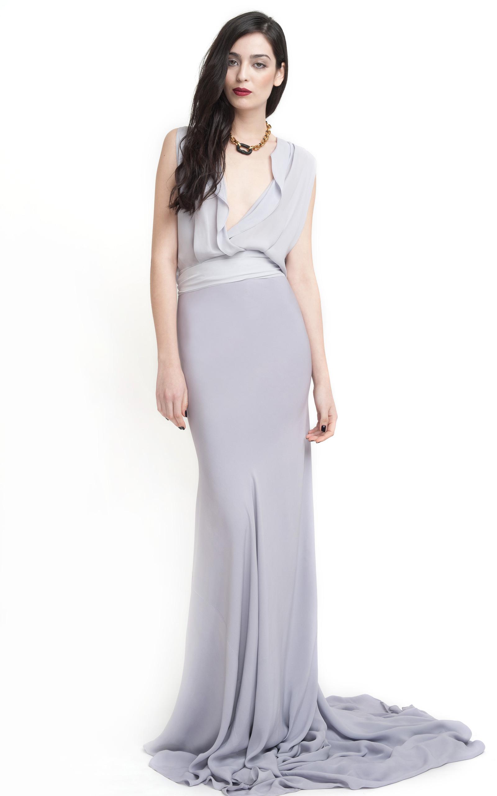 Backless Evening Gown by Juan Carlos Obando | Moda Operandi