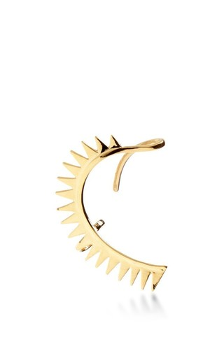 Medium annelise michelson gold carnivore earring