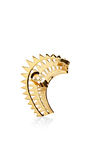 Gold Bowie Ear Cuff by ANNELISE MICHELSON Now Available on Moda Operandi