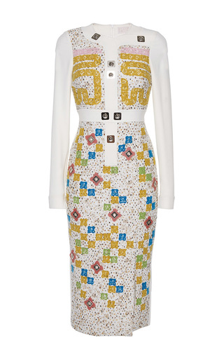 Ludo Dress by PETER PILOTTO Now Available on Moda Operandi