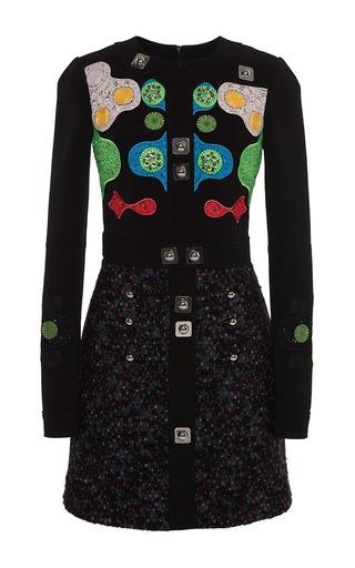 Black Counter Mini Dress by PETER PILOTTO Now Available on Moda Operandi