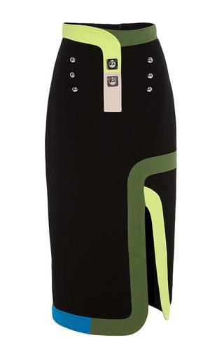 Medium peter pilotto black black ludo skirt