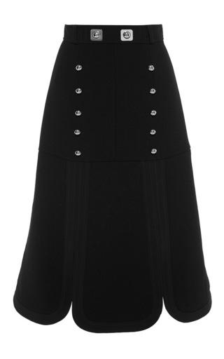 Medium peter pilotto black black track skirt