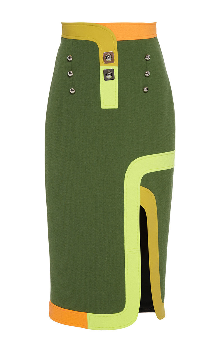 303f788e8868 Short Olive Green Pencil Skirt