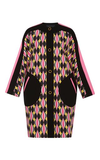Medium jonathan saunders print printed carmen coat