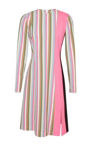 Medium jonathan saunders multi candy stripe alice dress