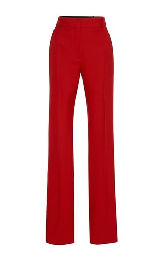 Medium jonathan saunders red red lindsey trouser
