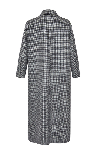 Pied De Poule Single Breasted Coat by ROCHAS for Preorder on Moda Operandi