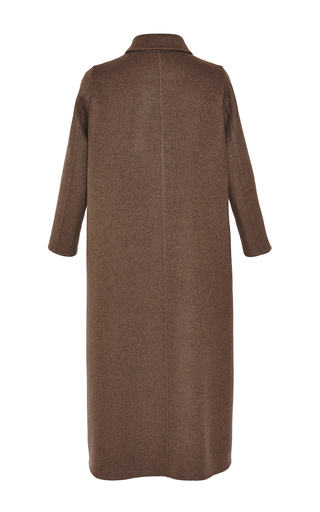 Olive Wool Cashmere Coat by ROCHAS for Preorder on Moda Operandi