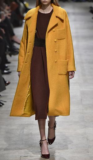 Mohair Four Pocket Coat by ROCHAS for Preorder on Moda Operandi
