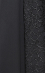 Wool Pleated Skirt  With Lace Panel by ROCHAS for Preorder on Moda Operandi