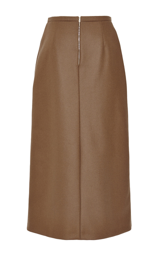 Doubleface Boiled Cashmere Pencil Skirt by ROCHAS for Preorder on Moda Operandi