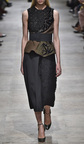 Embroidered Swallows With Chrysanthemum Nigel Knot Top by ROCHAS for Preorder on Moda Operandi