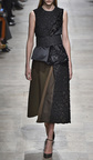 Embroidered Satin And Velvet Knot Top by ROCHAS for Preorder on Moda Operandi