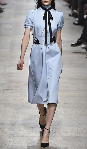 Wool Suiting Detachable Neck Tie by ROCHAS for Preorder on Moda Operandi