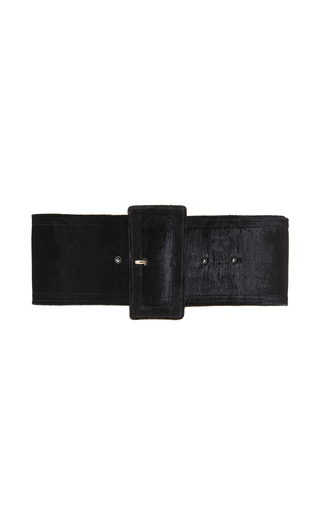 Shaved Shearling Belt by ROCHAS for Preorder on Moda Operandi
