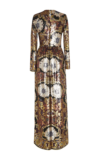 Hand Painted Paillette Jumpsuit by ETRO for Preorder on Moda Operandi