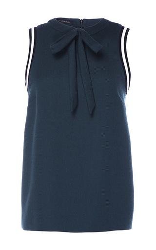 Medium mother of pearl blue juliet blouse