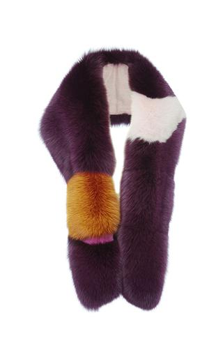 Medium roksanda ilincic multi aubergine latham scarf