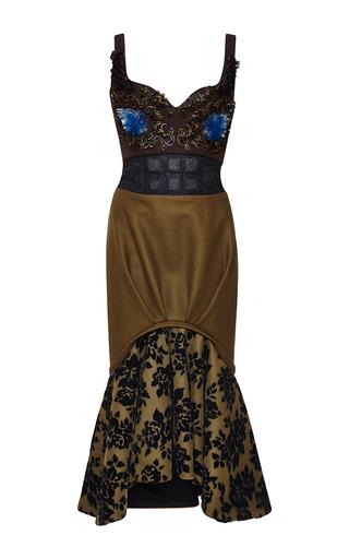 Medium mary katrantzou brown periless dress
