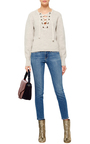 Organic Wool Lace Up Front Charley Sweater by ISABEL MARANT Now Available on Moda Operandi