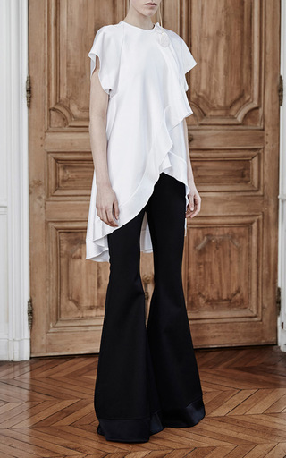 Constance Drape Raglan Top by ELLERY Now Available on Moda Operandi