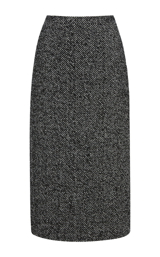 Medium no 21 dark grey chevron skirt