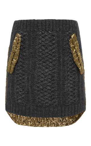 Medium no 21 dark grey gioia skirt