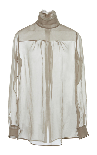 Medium no 21 nude marie antonietta silk shirt