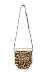 Mini Amor Fati Small Leopard Pony Shoulder Bag by M2MALLETIER Now Available on Moda Operandi