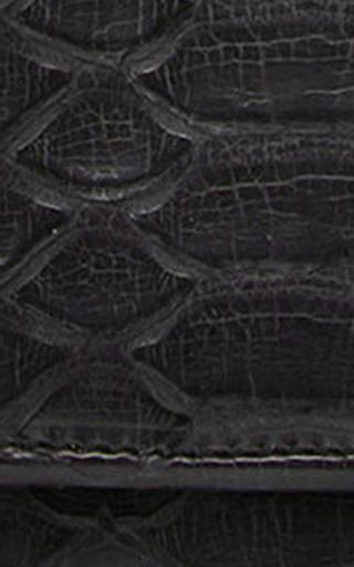 Black Cabiria Python Wallet by M2MALLETIER Now Available on Moda Operandi