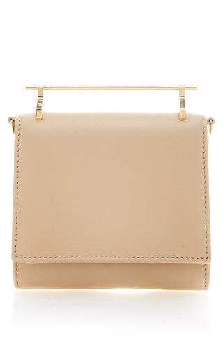 Medium m2malletier brown sand cabiria calf leather wallet
