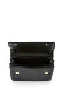 La Fleur Du Mal Cross Body Leather Bag In Black by M2MALLETIER Now Available on Moda Operandi