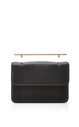 Medium m2malletier black la fleur du mal cross body bag