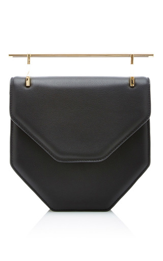 Medium m2malletier black amorfati cross body bag