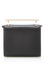 Cabria Leather Wallet In Black by M2MALLETIER Now Available on Moda Operandi
