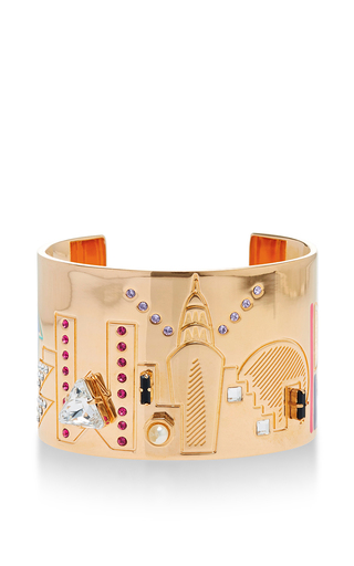Medium maria francesca pepe gold new york statement cuff
