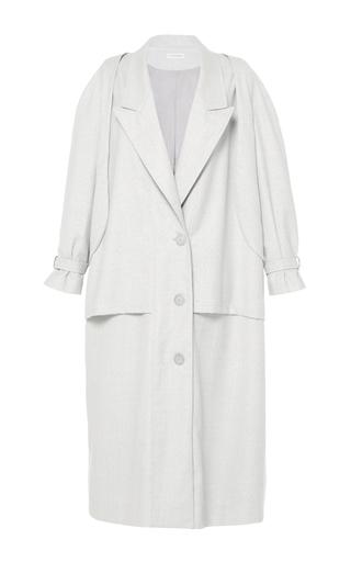 Medium vika gazinskaya dark grey oversized trench coat