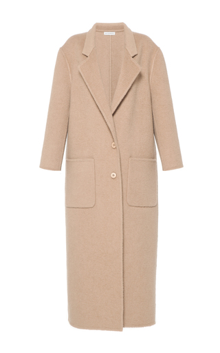 Medium vika gazinskaya brown oversized camel hair coat